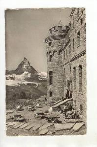 RP  Zermatt, Kulmhotel Gornergrat, Switzerland, PU-1955
