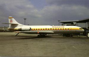 HISPANIA LINEAS AEREAS, Aerospatiale Sud SE210 Caravelle 10R (1980s) BUCHairCARD