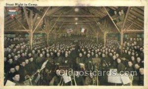 Stunt night in Camp Opera 1918 light tear right edge, heavy wear along right ...