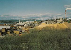 CAMPBELL RIVER, B.C., Canada, 50-60s; Crown Zellerback Paper Mill