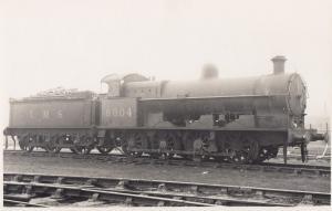 LNWR Class GY 080 No 8904 Original Postcard Style Photo