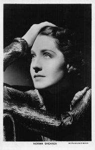 Norma Shearer Metro Goldyn Mayer Film Star Postcard