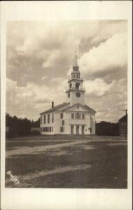 Hancock NH Church Real Photo Postcard