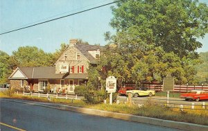 CHEZ ODETTE French Country Restaurant New Hope, PA Roadside ca 1960s Postcard