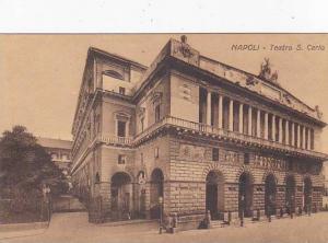Italy Napoli Naples Teatro San Carlo