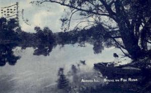 Fox River Aurora IL 1908