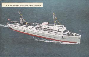 Steamship S.S. Mlwaukee Clipper , Lake Michigan , 30-40s
