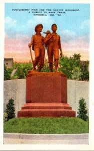 Missouri Hannibal Huckleberry Finn and Tom Sawyer Monument