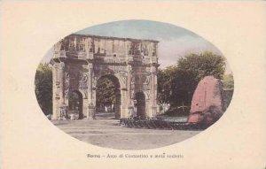 Italy Roma Rome Arco di Costantino e meta sudante