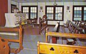 New Hampshire Spottord Camp Notre Dame Chapel INterior