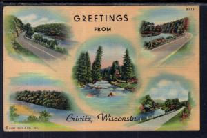 Greetings From Crivitz,WI BIN
