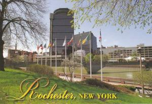 Greetings from Rochester, New York - Genesee River