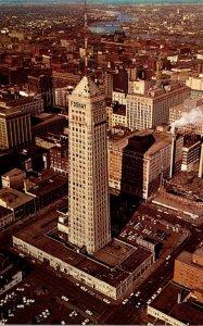 Minnesota Minneapolis Downtown Aerial View