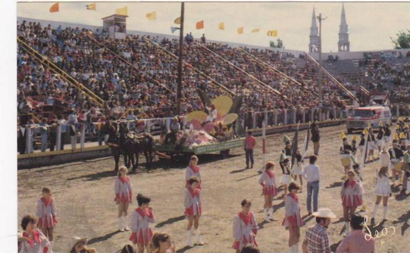 Queen of the Festival, Western Parade, Saint-Tite, Laviolette, Quebec, Canada...