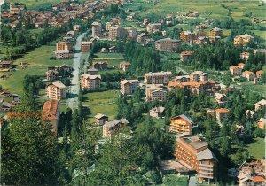 Postcard Italy Bardoneccchia residential quarter - Old Suburb