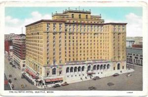 The Olympic Hotel, Seattle, Washington