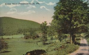 FRIENDSVILLE, Pennsylvania, PU-1915; Scenic View