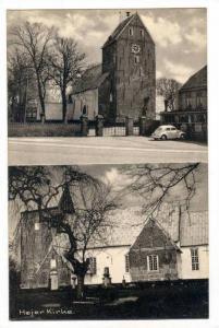 2Views, Hojer Kirke, Denmark, 1910-1930s