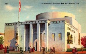 New York World's Fair The Romanian Building
