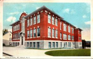 New Jersey Mount Holly High School Curteich