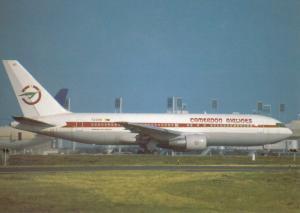 CAMEROON AIRLINES, Boeing 767-231 ER, unused Postcard