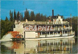 Modern Postcard Riverboat Discovery Boat