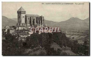 Saint Bernard de Comminges Old Postcard General view