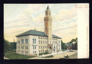 Worcester, Massachusetts/MA/Mass Postcard, City Hall