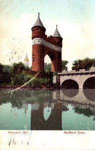 Connecticut Hartford The Memorial Arch 1907