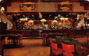 Las Vegas Nevada~Golden Nugget Gambling Hall-Saloon-Restaurant~Card Tables~1950s