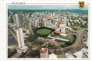 Panama Panoramic View Of Panama City
