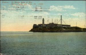 Havana Cuba Lighthouse United Fruit Co Steamship Service Cover Cancel 1936