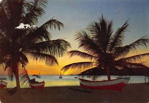 Singapore Sunset on the Beaches Boats Bateaux