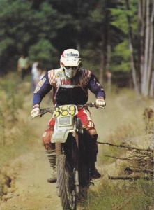 Motorcross motorcycle racing , YAMAHA 500cc bike , 60-80s
