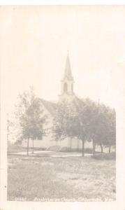D29/ Cottonwood Minnesota Mn Real Photo RPPC Postcard c1910 Presbyterian Church