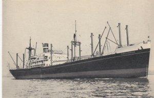 Holland-America M.V. ALBLASSERDIJK ; Passenger & Freight Service , 30-40s