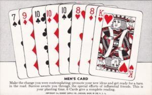 Vintage Arcade Card Men's Card Make The Change