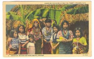 Group Of Indians On Tigre Island, Panama, 1930-1940s