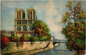 CPA PARIS 4e Notre Dame (446112)
