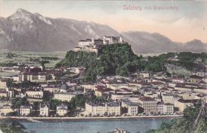 SALZBURG vom Kapuzinerberg, Austria, 00-10s