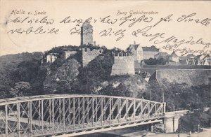 HALLE A. SAALE (Saxony-Anhalt), Germany, PU-1908 ; Burg Giebichenstein