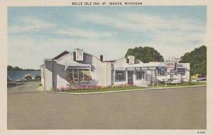 Michigan St Ignace Belle Isle Inn