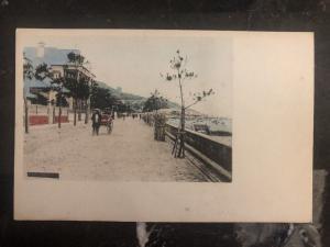 Mint China Real Picture Postcard rickshaw