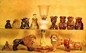 VT - Bennington. Bennington Museum, Pottery, Rockingham & Flint Enamel