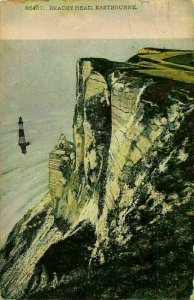 Eastbourne Beachy Head Lighthouse Cliff Postcard