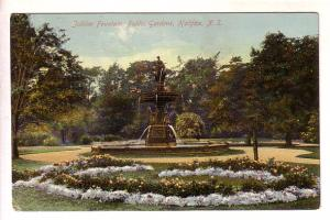 Jubilee Fountain, Public Gardens Halifax Nova Scotia Newfoundland Map Stamp, ...