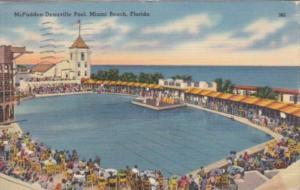Florida Miami Beach McFadden-Deauville Swimming Pool 1941