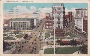 Ohio Cleveland Public Square 1930
