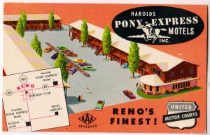 Harolds Pony Express Motels, Reno Nev