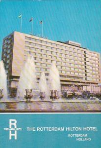 Netherlands Rotterdam Hilton Hotel